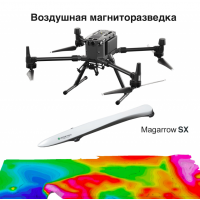 Квадрокоптер DJI Matrice 300 RTK с магнитометром Magarrow SX