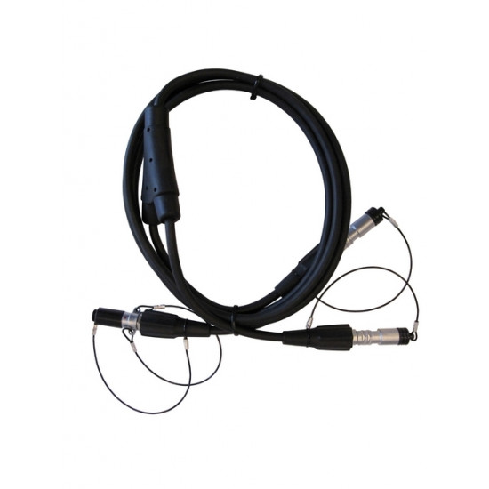 Y-кабель 1.5 м Lemo7(M)-2xLemo7(F)