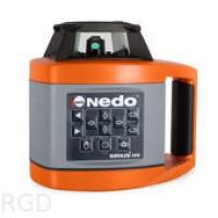 Лазерный нивелир NEDO SIRIUS1 HV (ротационный) + ACCEPTOR1