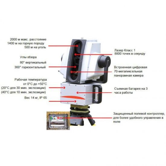 Лазерный сканер Leica HDS8800