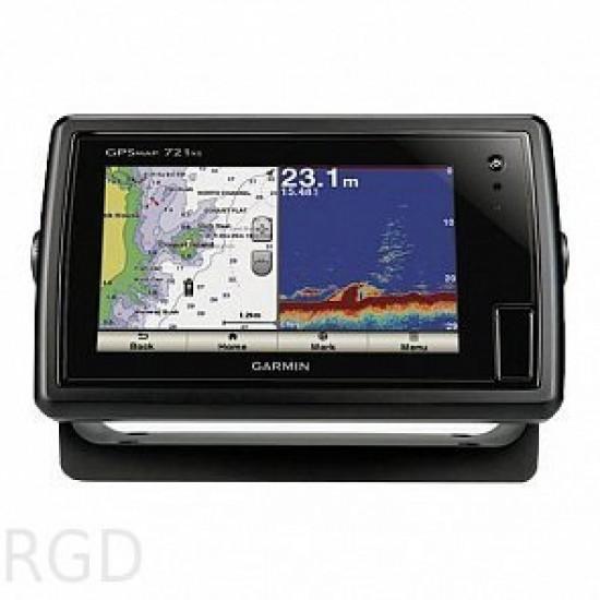 Картплоттер с эхолотом Garmin GPSMAP 721xs с трансдьюсером GT20-TM