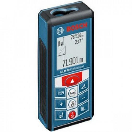 Лазерный дальномер BOSCH GLM 80 + R 60 Professional б/у