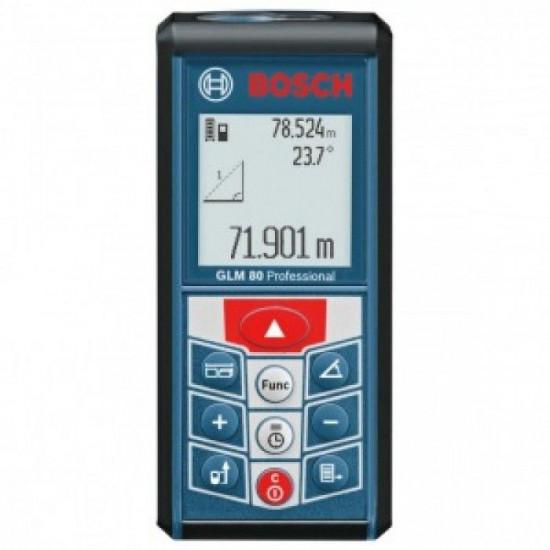 Лазерный дальномер Bosch GLM 80 Professional б/у