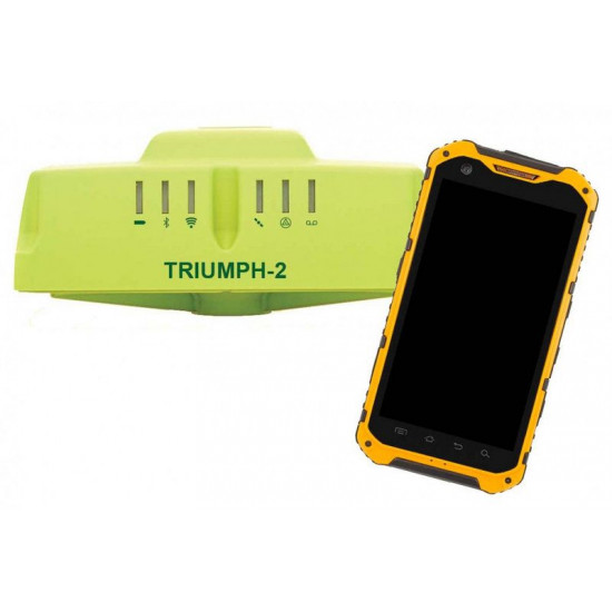 GNSS приемник Javad Triumph-2 + контроллер LR9 б/у