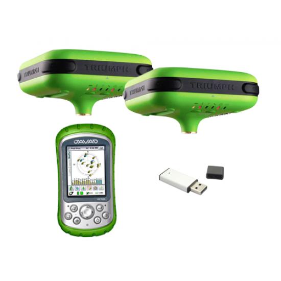 Комплект GNSS Javad Triumph-1 RTK GSM+radio 2шт. c контроллером Victor (2012 г.в.) б/у