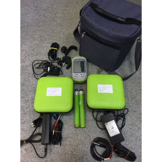 Комплект GNSS-приемник Javad Triumph-VS GSM и GNSS-приемник Javad Triumph-1 RTK GSM c контроллером Victor б/у