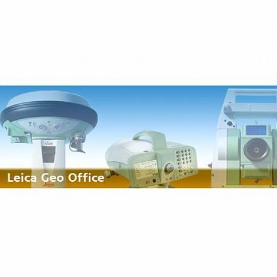Leica LGO GNSS RTK Bundle (Geo Office GNSS RTK; плавающая лицензия)