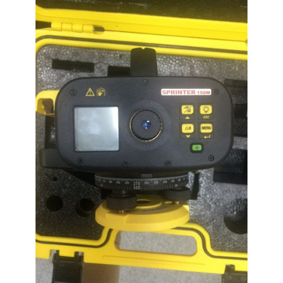 Цифровой нивелир Leica Sprinter 150M (2013 г.в.) б/у