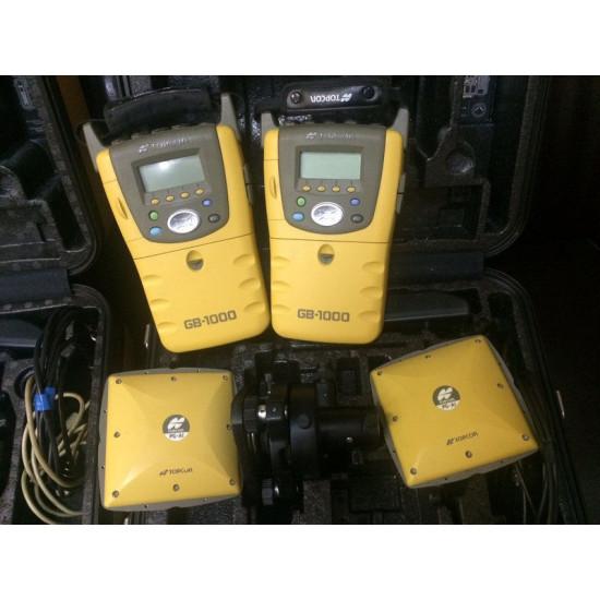 Комплект GPS Topcon GB-1000 2 шт. + ПО б/у