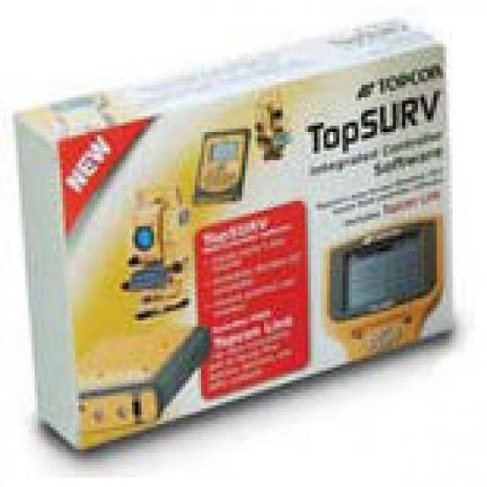 Программный модуль Topcon TopSURV GPS+