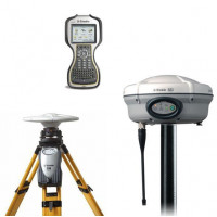 Комплект RTK Trimble R7 + R8-lV Radio + контроллер TSC-3 + модем 35 Ватт (2015 г..