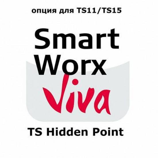 Leica SmartWorx Viva TS Hidden Point