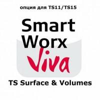 Leica SmartWorx Viva TS Surface & Volumes