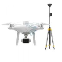 Квадрокоптер DJI P4 Multispectral + D-RTK 2 Мобильная станция высокой точности G..