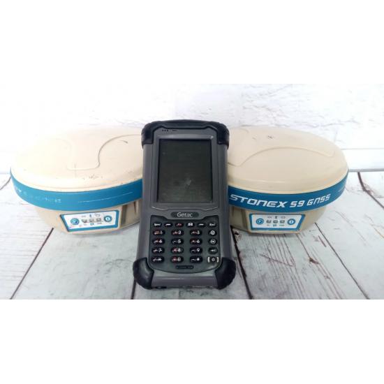 Комплект GNSS Stonex S9-3 c контроллером Getac б/у