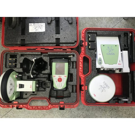 Комплект GNSS приемников Leica GS-15 radio + GS10 Viva c контроллером CS-10 б/у