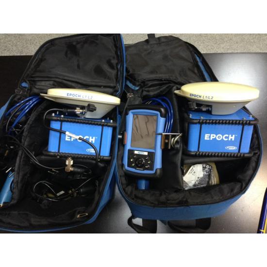 Двухчастотный комплект GPS Spectra Precision Epoch-25 + контроллер Recon б/у + ПО