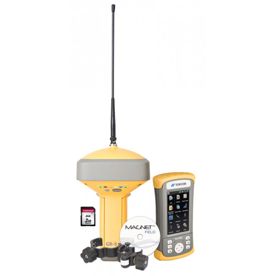 GNSS приемник Topcon GR-5 DUHFII/GSM с контроллером FC-500 Magnet Field GPS+