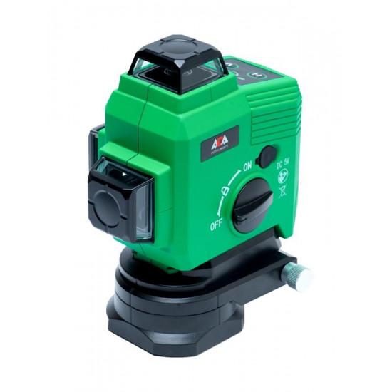 Лазерный уровень ADA TopLiner 3x360 Green