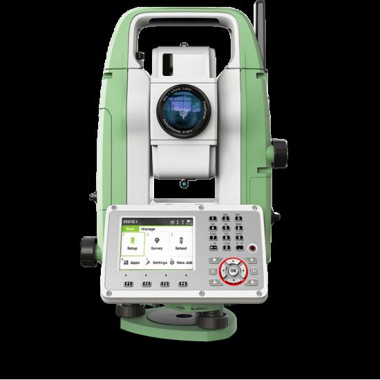 """Тахеометр Leica TS07 R1000 5"""" EGL"""